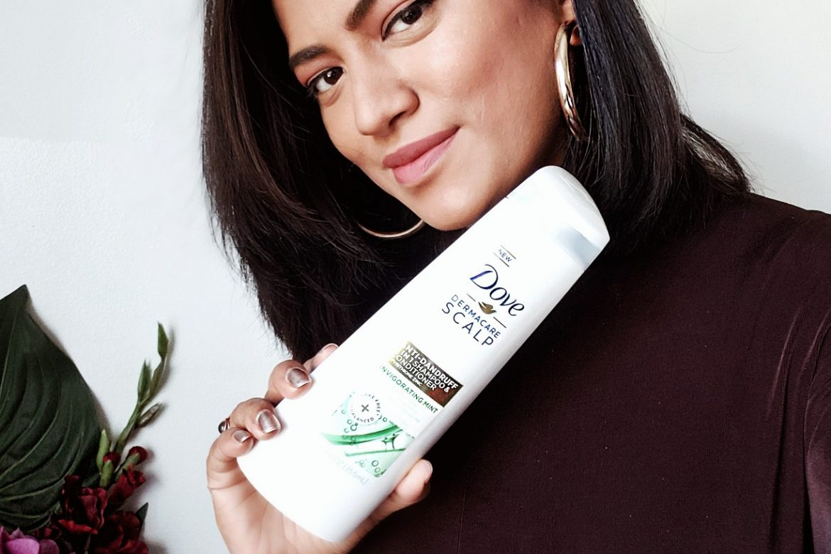 Show Your Hair Some Love with Dove Dermacare Anti-Dandruff Shampoo & Conditioner