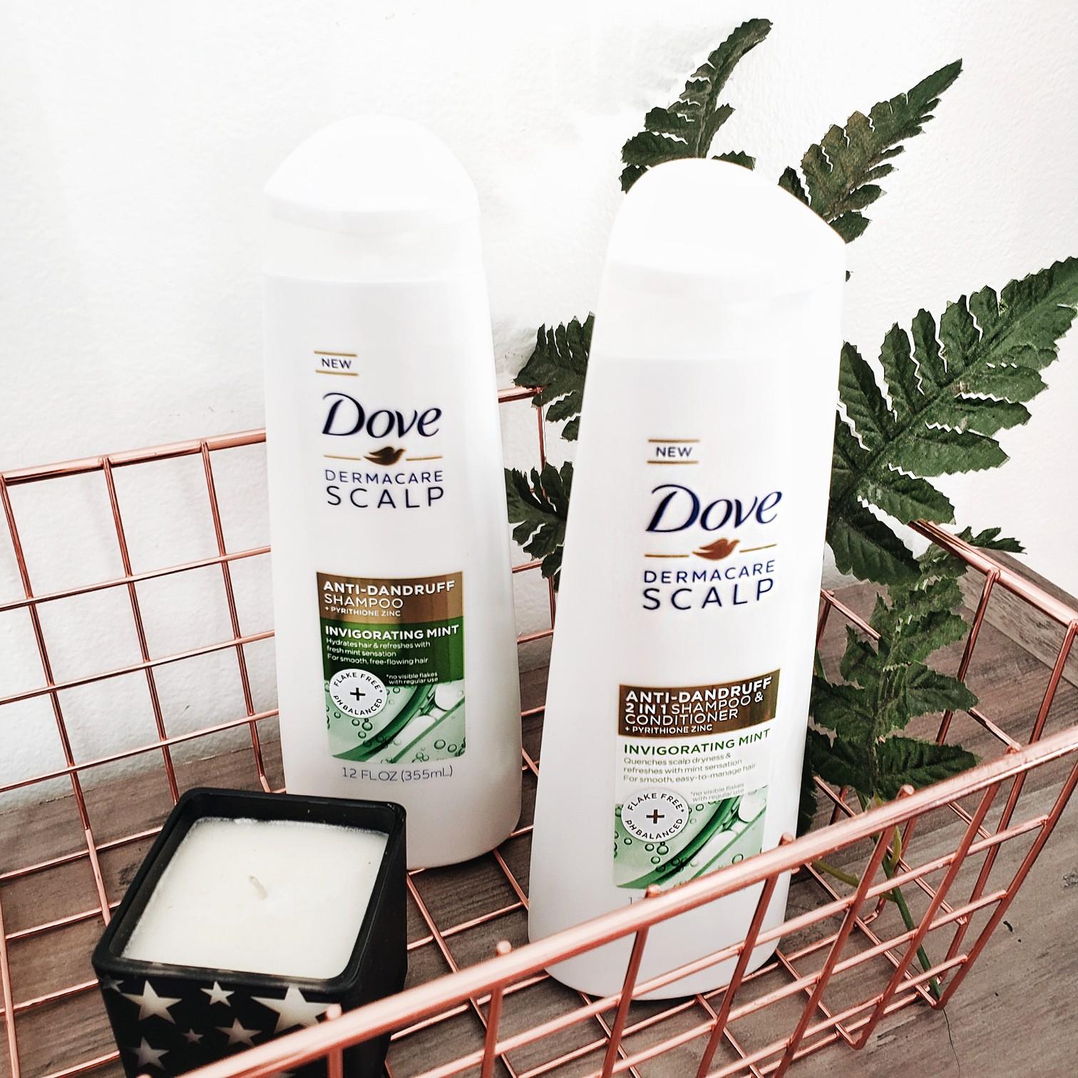Dove Dermacare Anti-Dandruff Invigorating Mint Shampoo Review