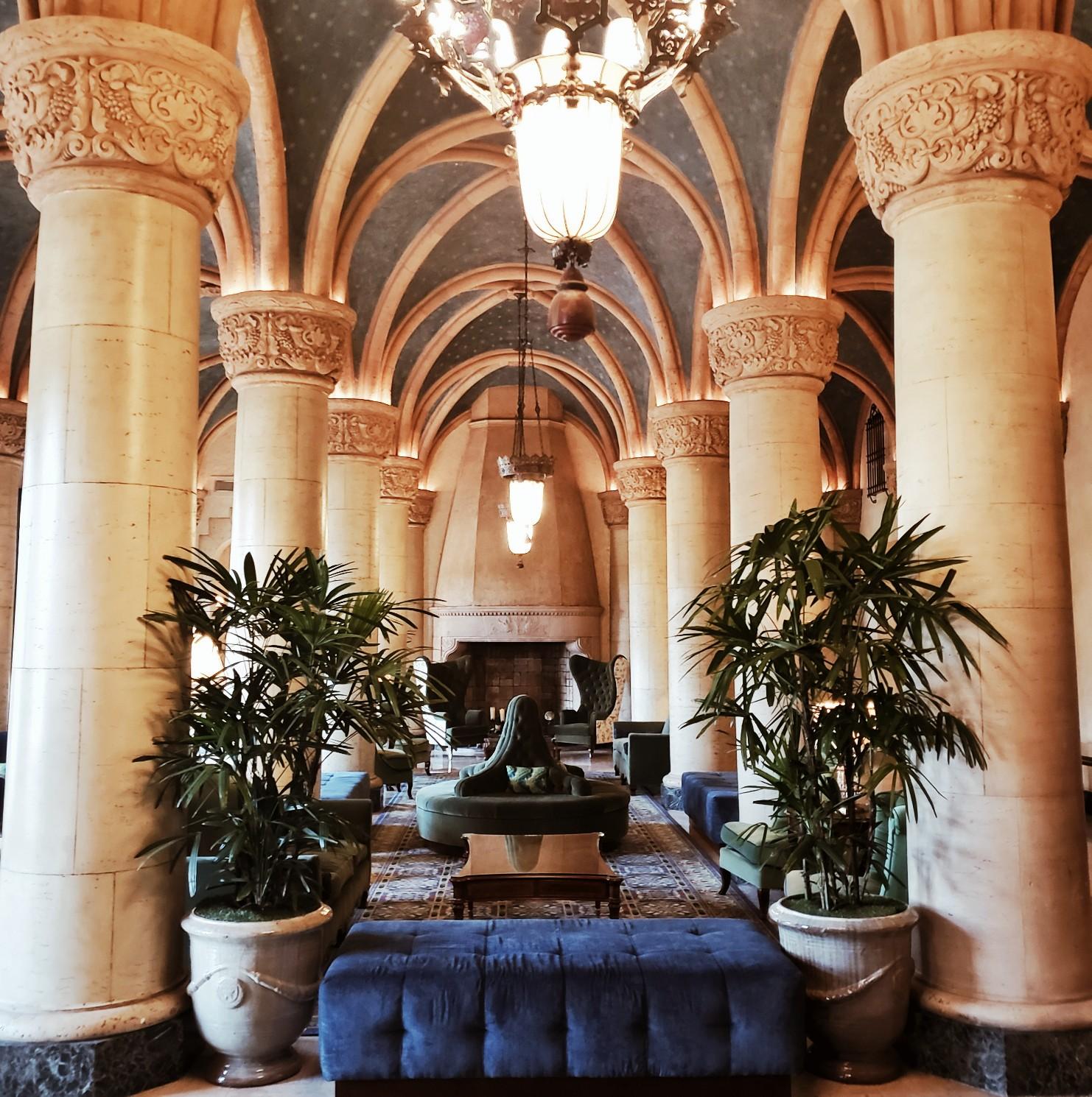 Biltmore Hotel Miami Coral Gables Exquisite Lobby Design