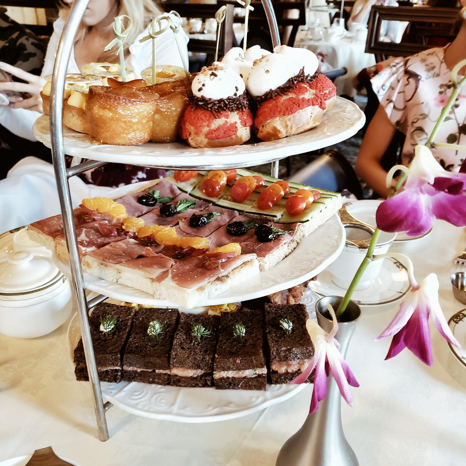 Miami high tea review by travel blogger Afroza Khan