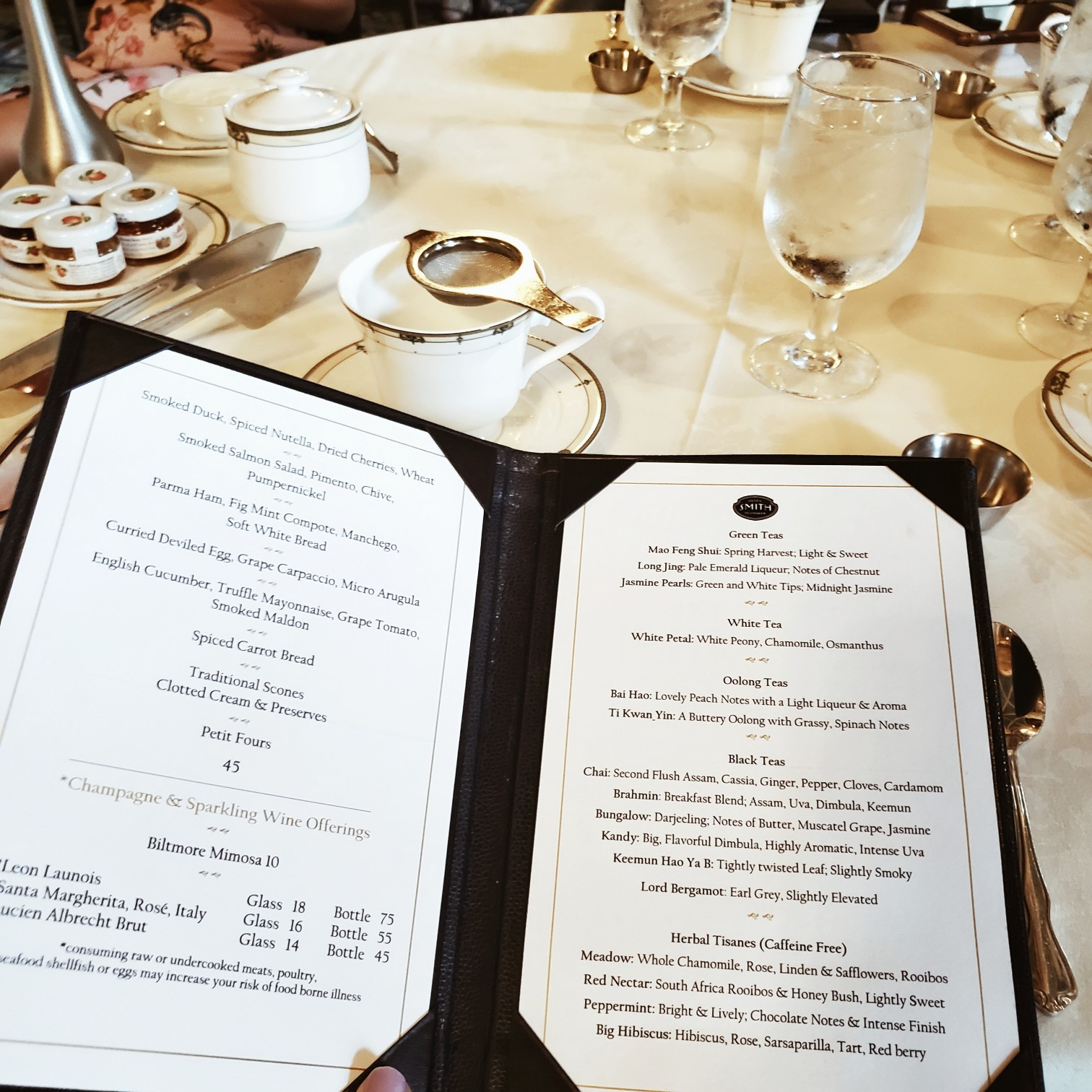 High Tea at Biltmore Hotel Miami Coral Gables Luxe