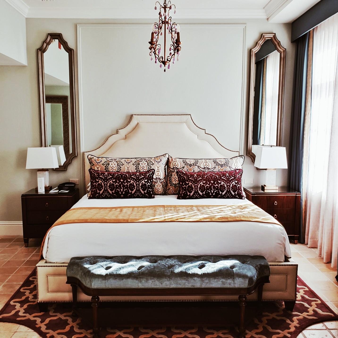 Biltmore Hotel Miami Coral Gables Luxury Hotel Room Travel Blogger