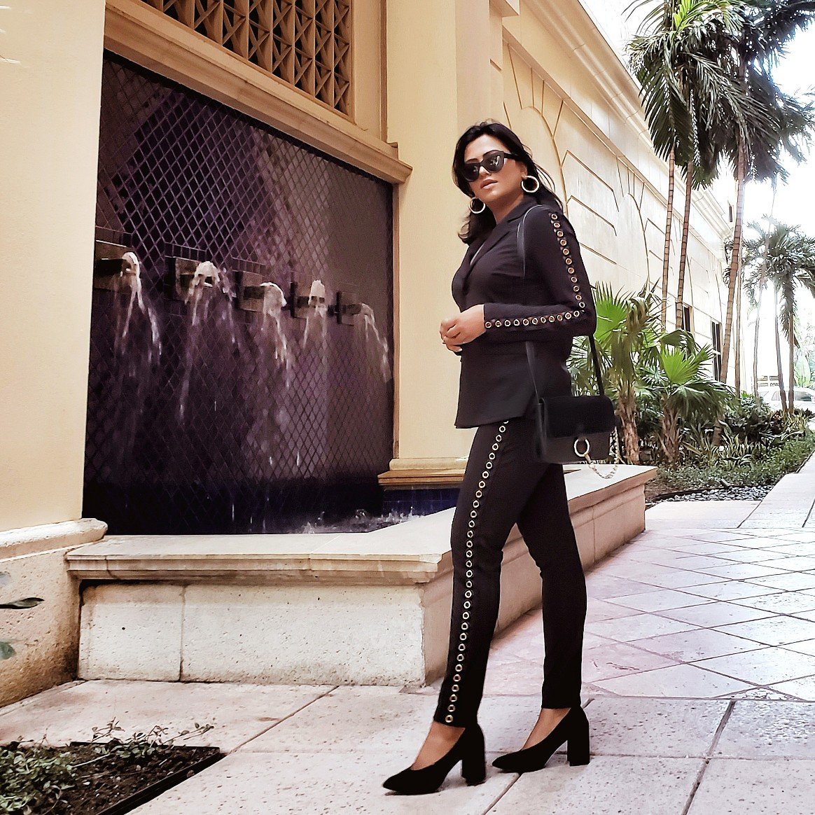 Miami Blogger Afroza Khan Chic Fall Fashion 2018 Street Style