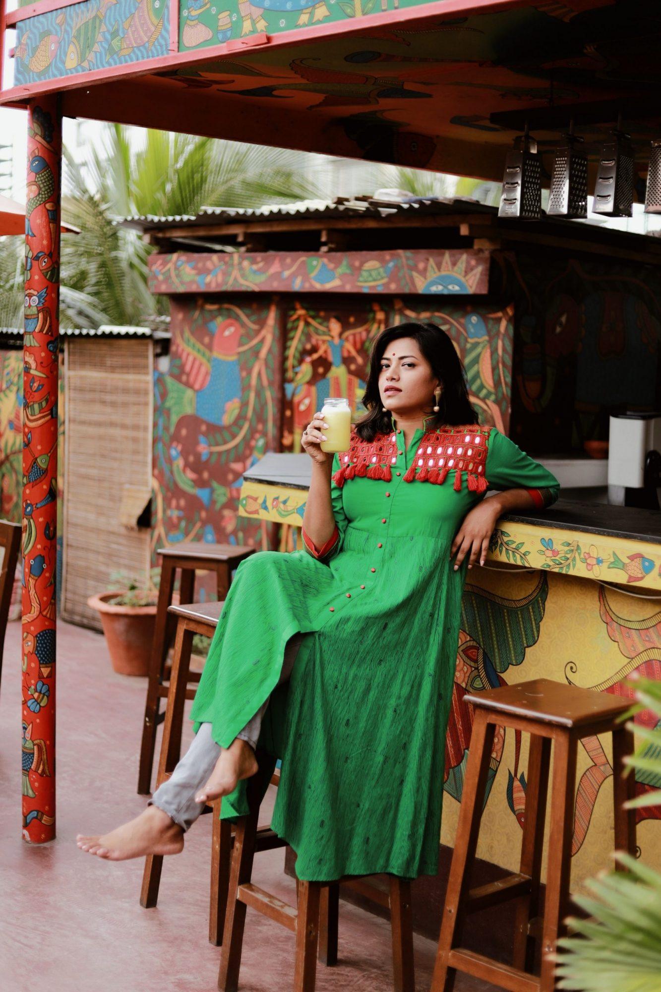 Bangladesh Blogger Model Afroza Khan at Jatra Biroti