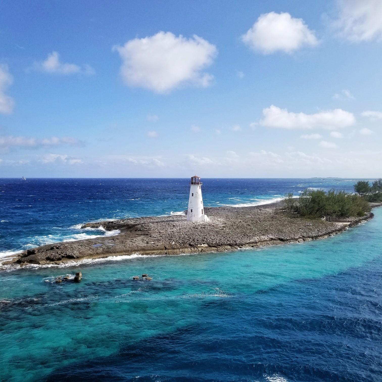 Royal Caribbean Symphony of the Seas Nassau Bahamas Lighthouse