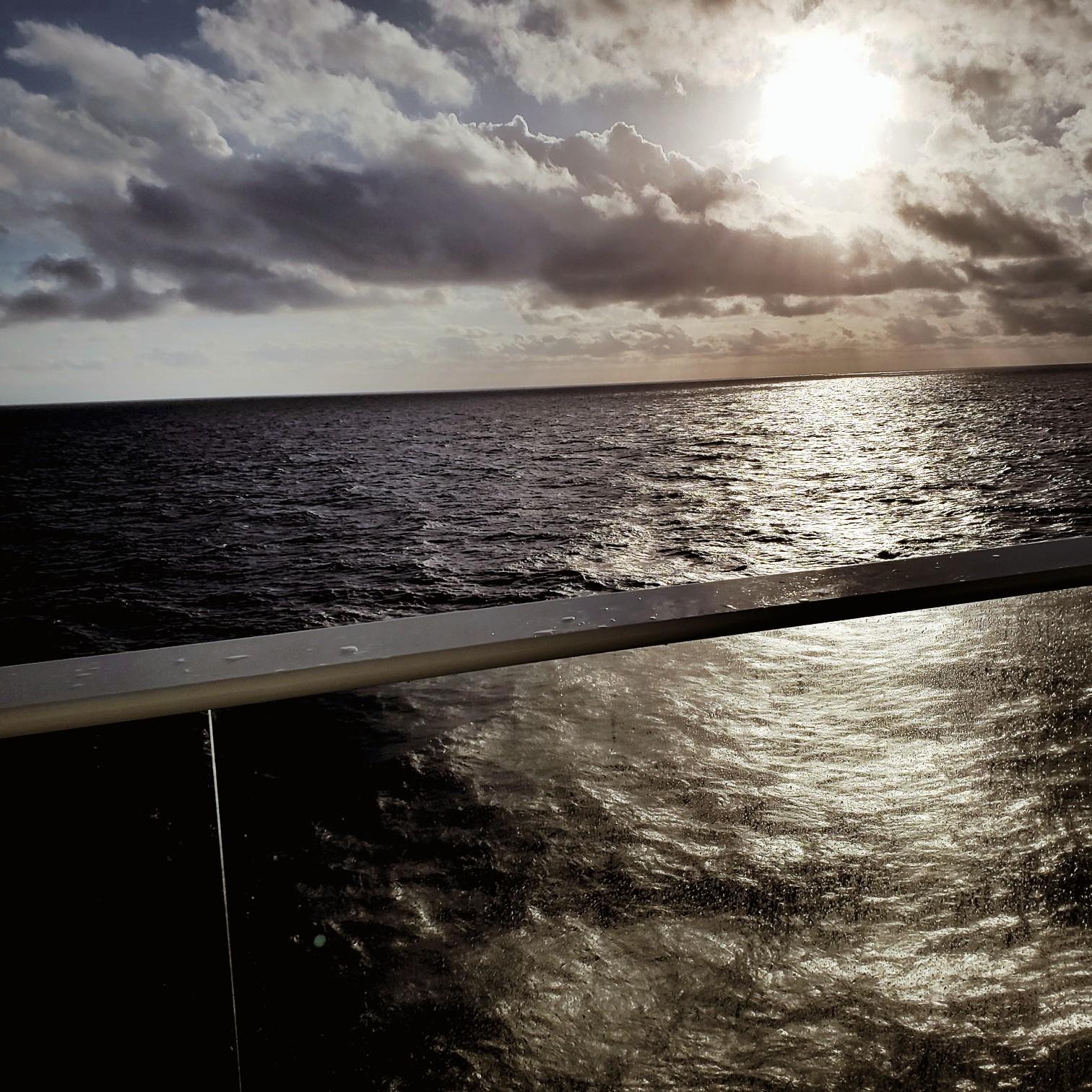 Royal Caribbean Symphony of the Seas view from balcony