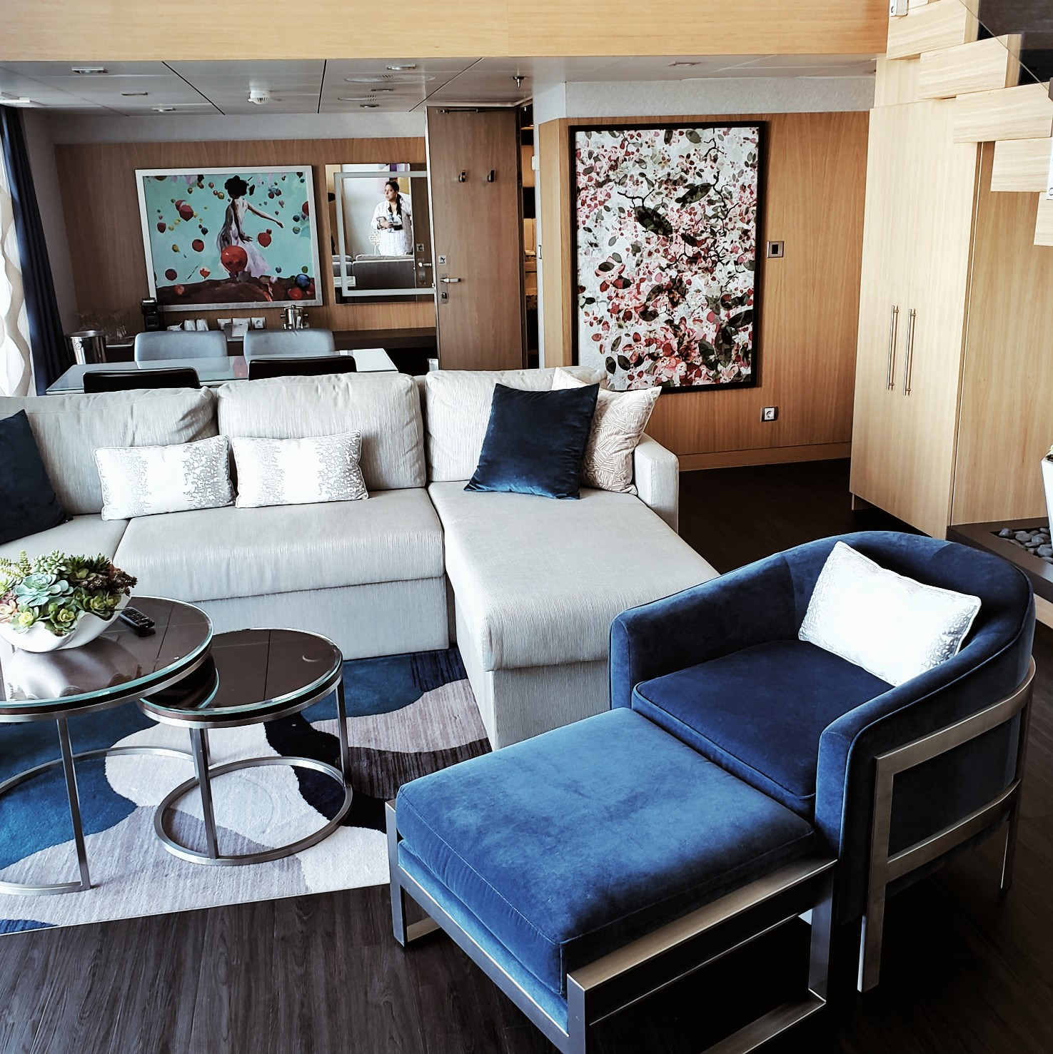 Royal Caribbean Symphony of the Seas Chic Star Loft Suite Decor