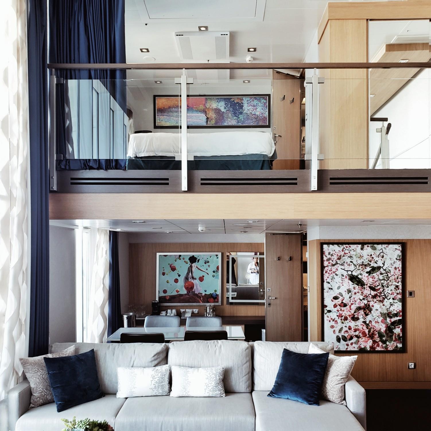 Royal Caribbean Symphony of the Seas Chic Star Loft Suite