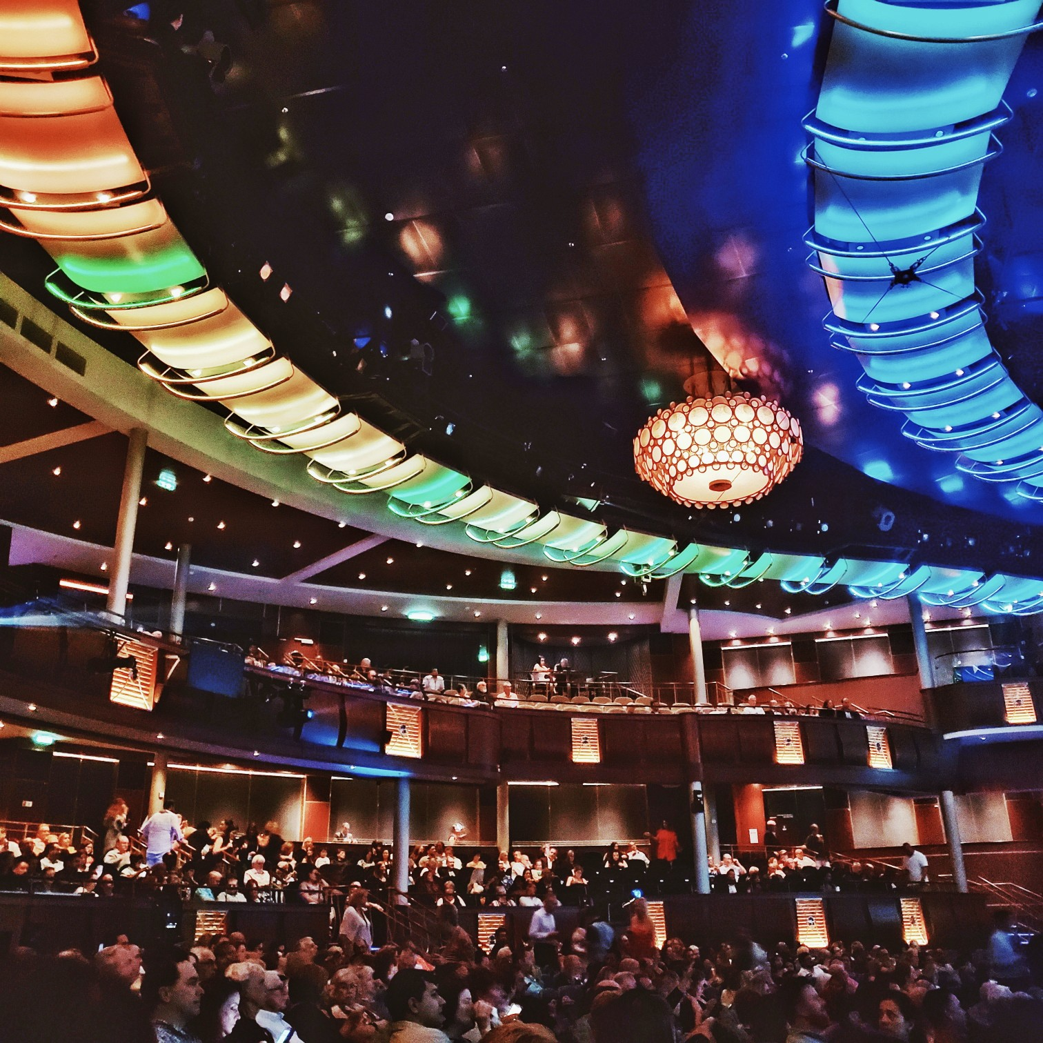 Royal Caribbean Symphony of the Seas Royal Theatre Standing Ovation