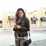 Miami Fashion Blogger Afroza Khan Moto Jacket