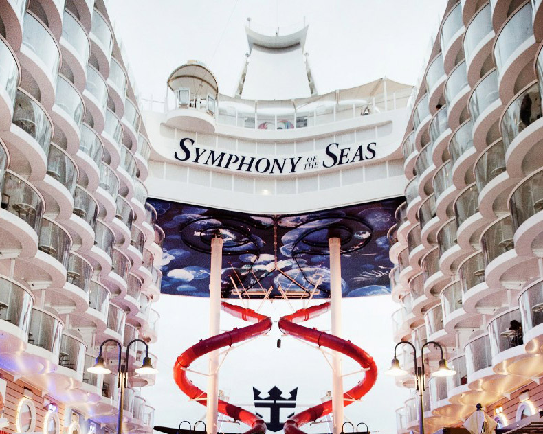 All Aboard The World's Largest Cruise Ship, Symphony of the Seas