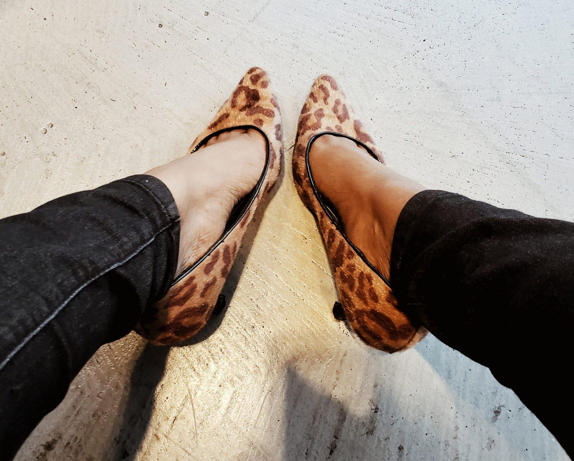 Miami Fashion Blogger Leopard Print Kitten Heels Trend Style