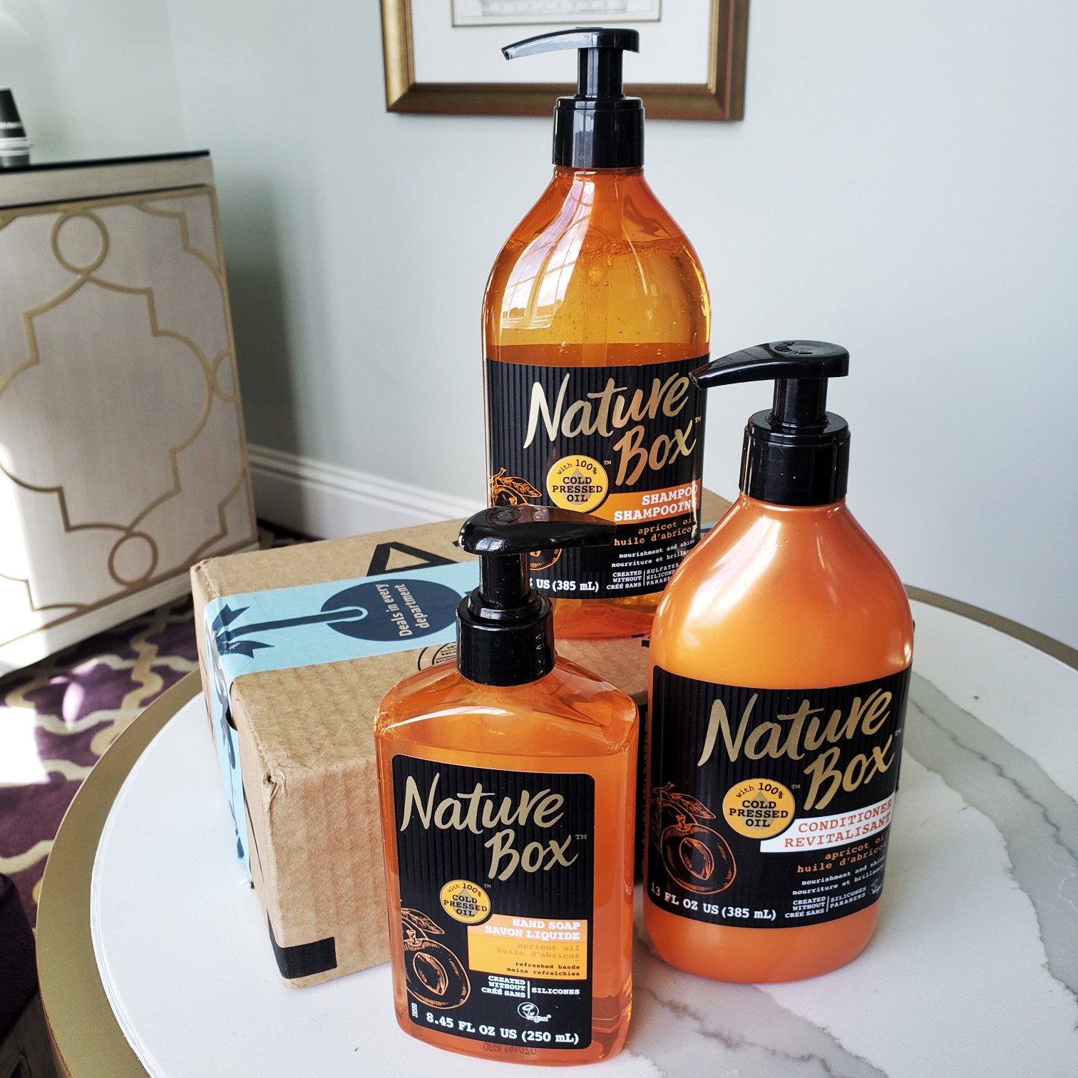 Nature Box Beauty™ Apricot Oil Amazon Prime Review