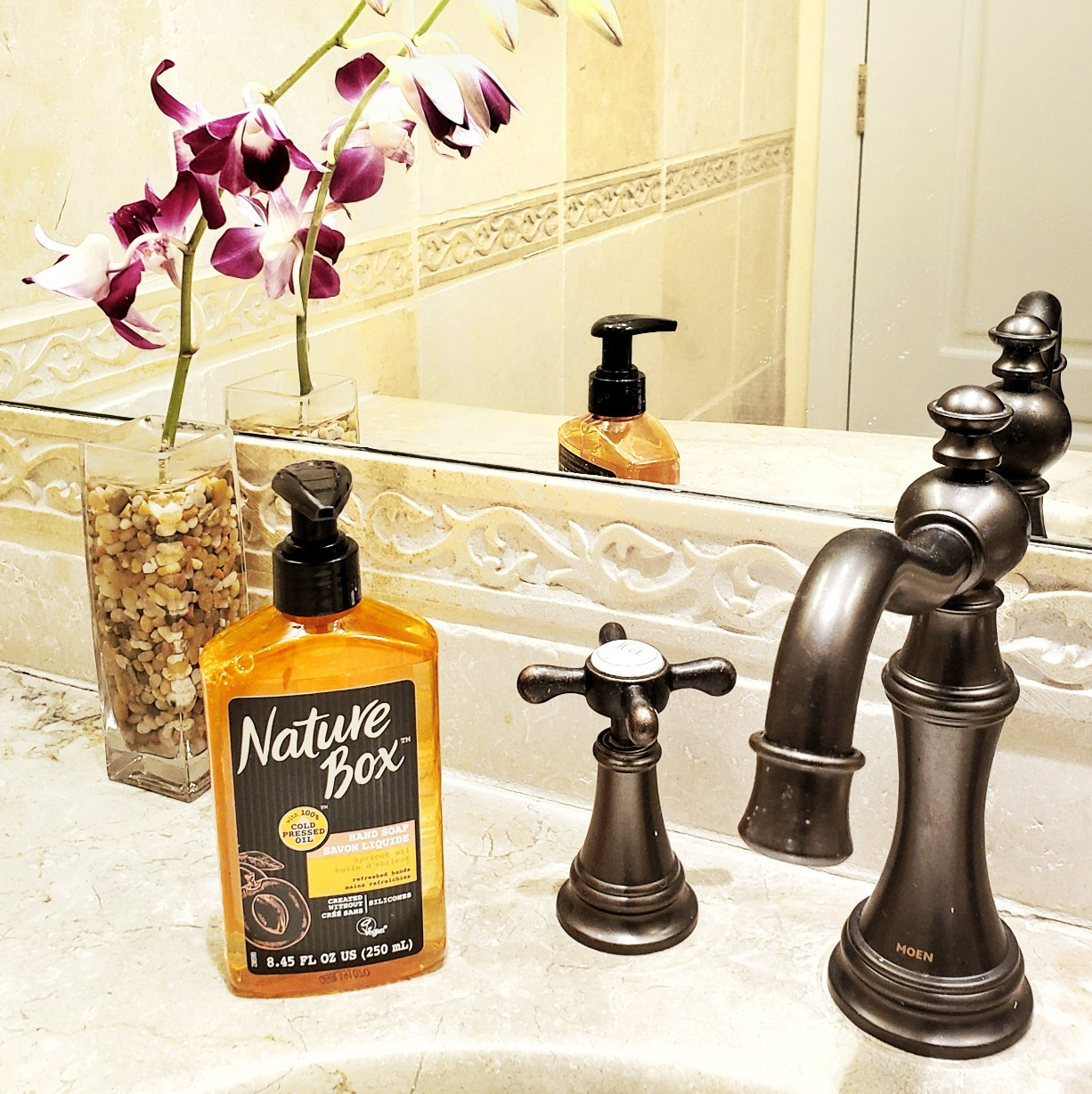 Nature Box Beauty™ Apricot Oil Hand Soap for Bathrooms