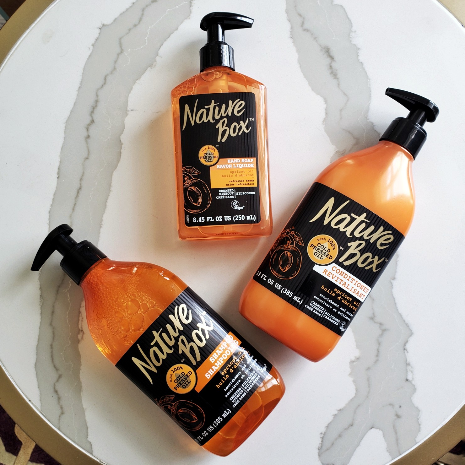 Nature Box Beauty™ Apricot Oil Review by Beauty Blogger Afroza Khan