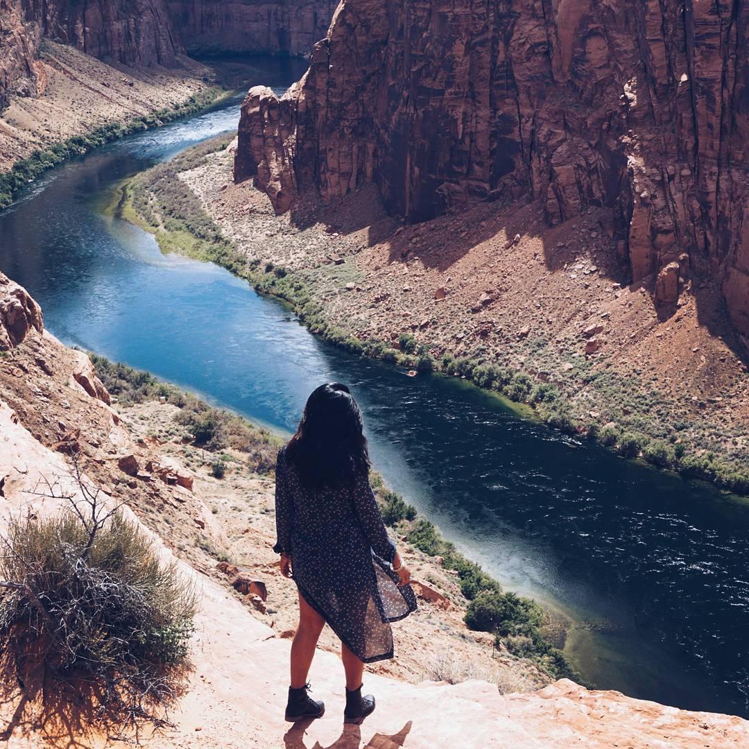 Travel Blogger Afroza Khan at Arizona