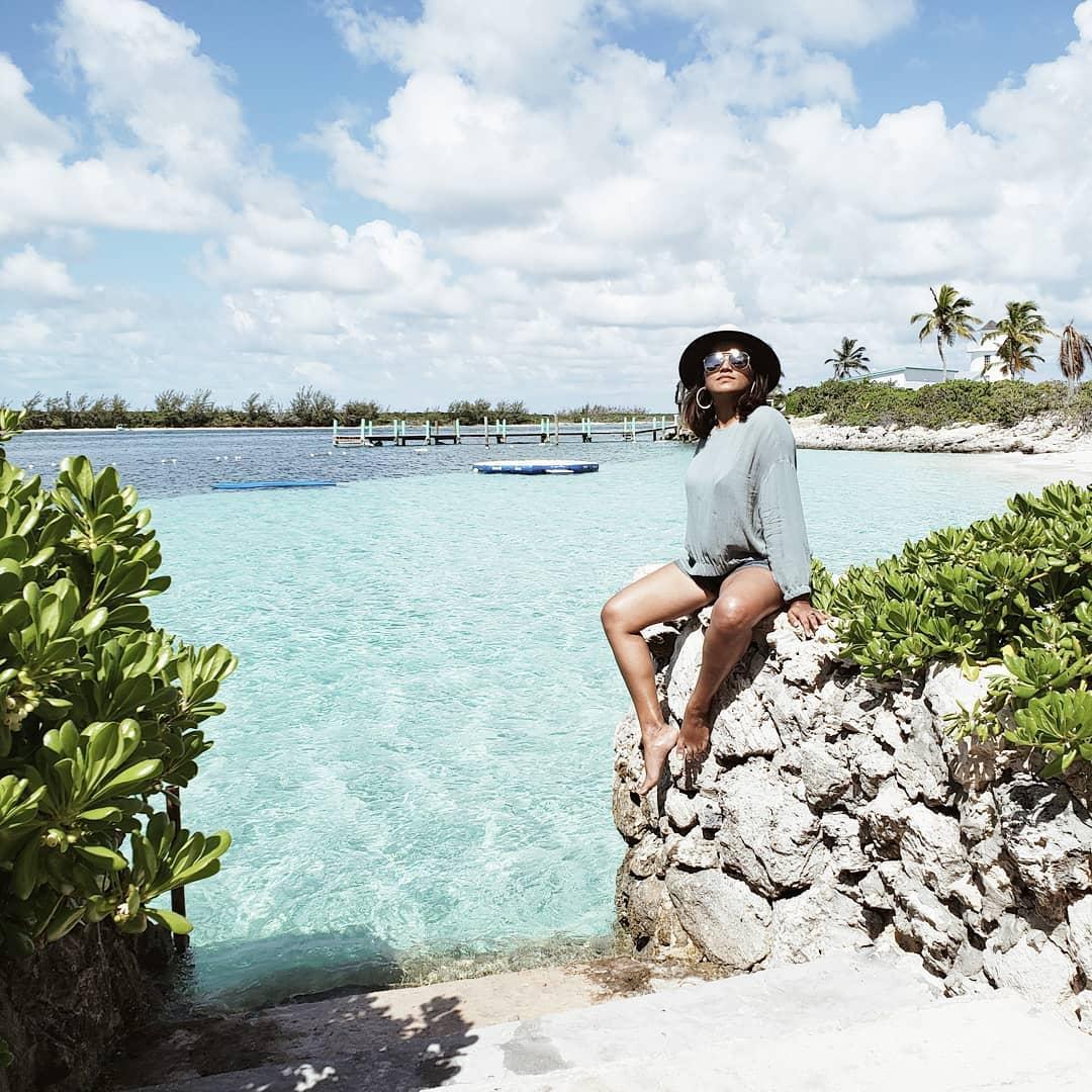 Afroza Khan Top Travel Blogger Cruising with Royal Caribbean at The Bahamas