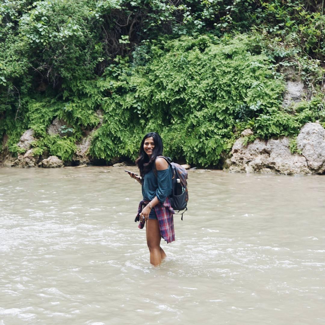 Afroza Khan Miami Lifestyle & Travel Blogger at The Narrows Utah