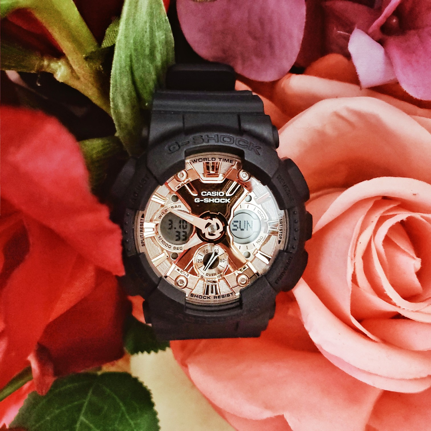 G-SHOCK S Series GMAS120MF-2A2 Watch from Casio