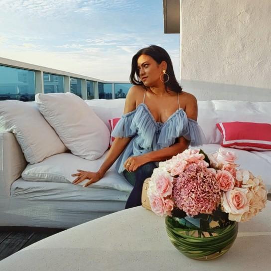 Miami Fashion Luxury Fashion Blogger Afroza Khan