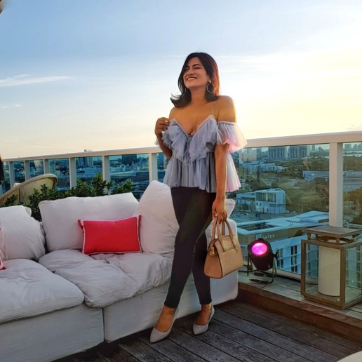 Top Miami Fashion Travel Blogger Afroza Khan
