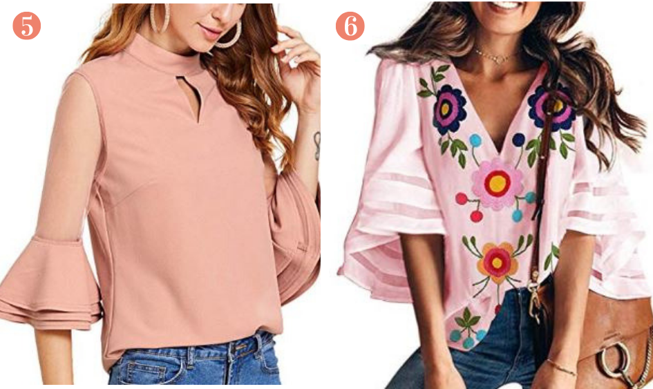 Amazon Spring Pink Fashion Tops Under $25