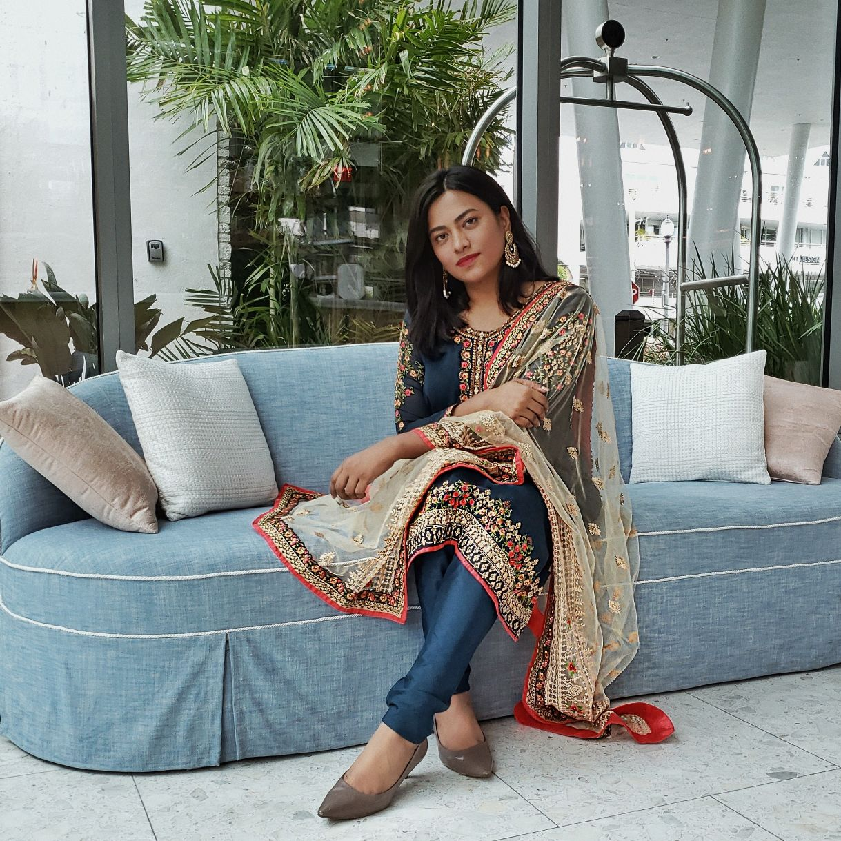 Miami Fashionista Indian Bangladesh Style Blogger Afroza Khan