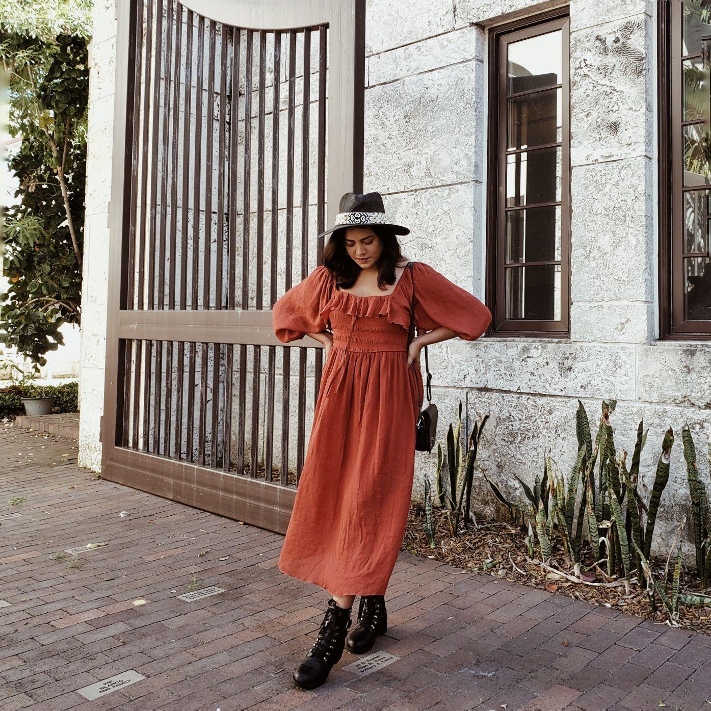 Bangladeshi American Fashion Blogger Afroza Khan