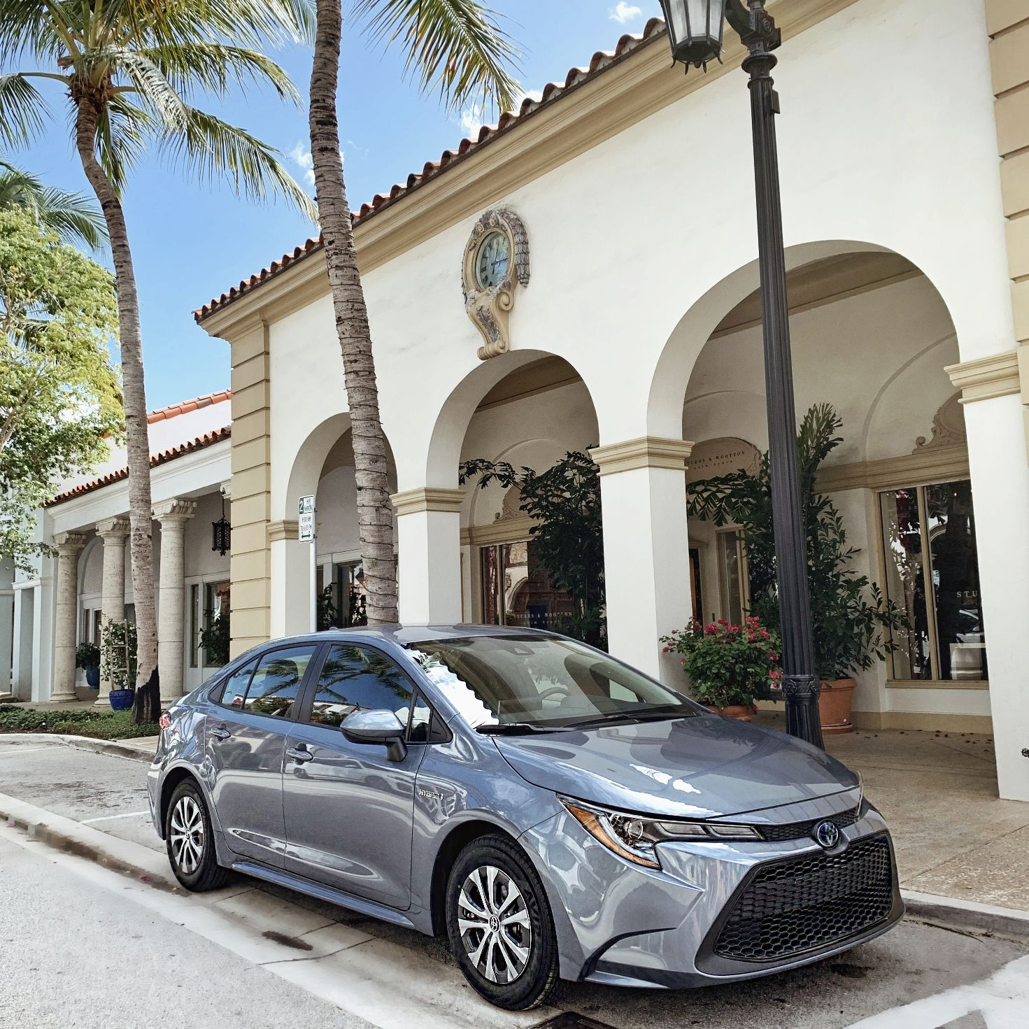 2020 Toyoto Corolla Hybrid Car Blogger West Palm Beach Worth Avenue Parallel Parking