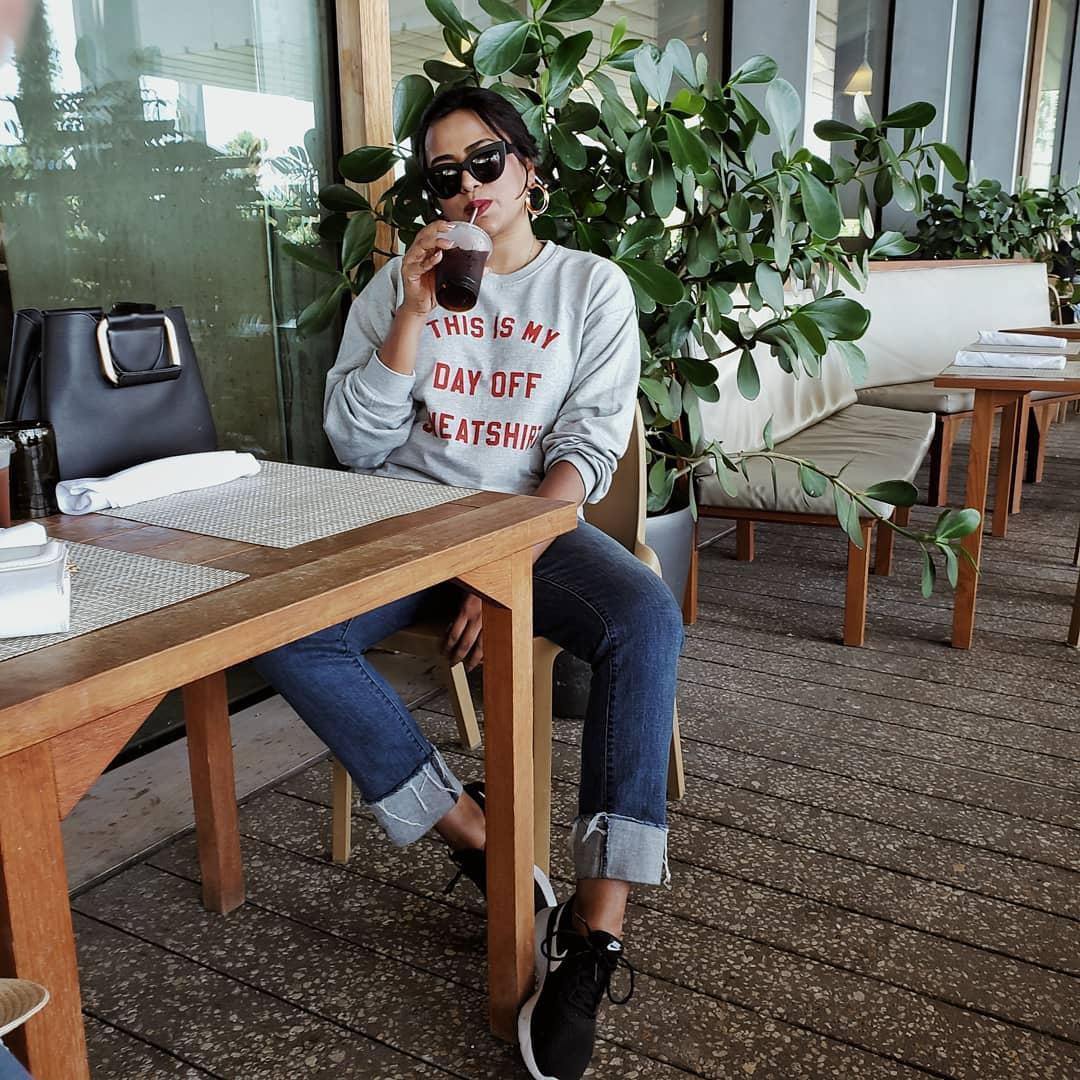 Miami Style Blogger Afroza Khan Insta-Worthy Miami Coffee Shop Verde Miami
