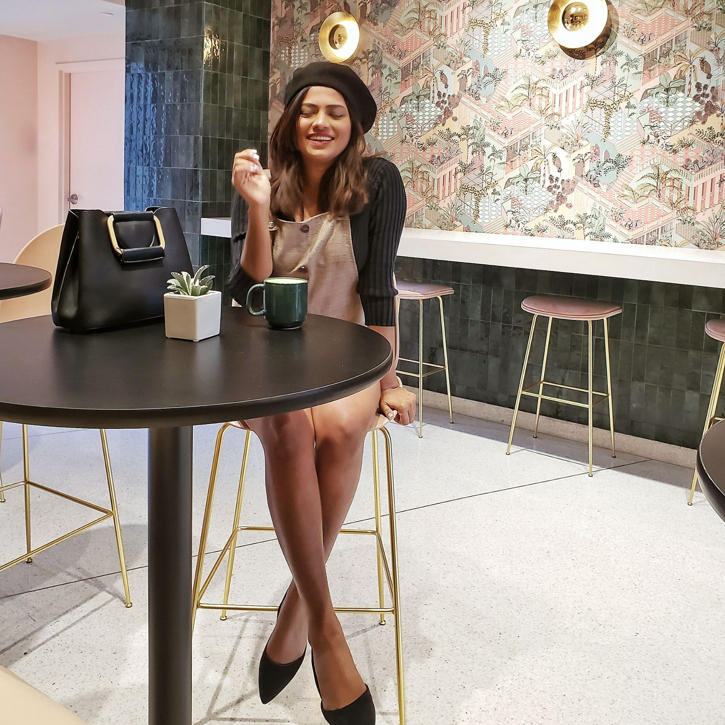 Miami Lifestyle Blogger Afroza Khan Instagram Worthy Miami Beach Cafe