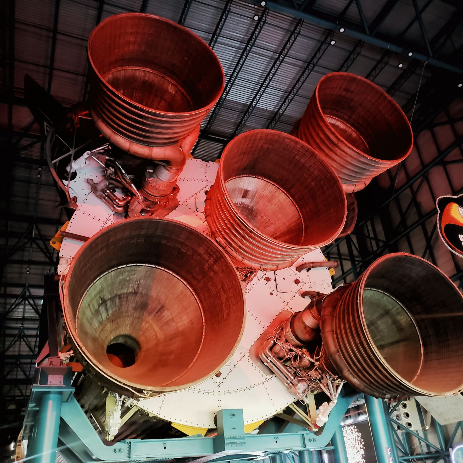 Real Saturn V Rocket Kennedy Space Center Orlando Florida