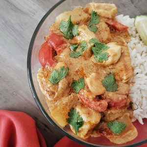 Easy Delicious Thai Yellow Chicken Curry Recipe