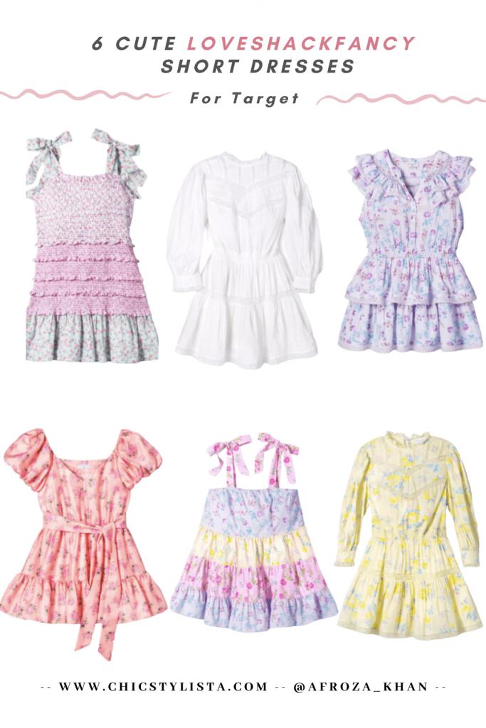 6 cute LoveshackFunky Short Dresses Summer romatic boho dresses