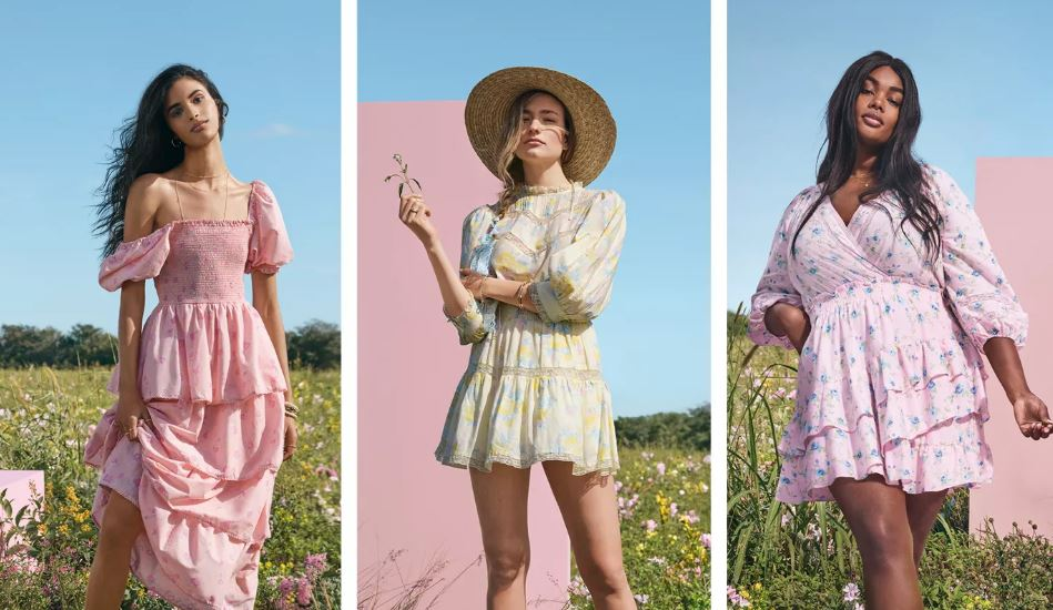 Romantic Summer Dresses by LoveShackFancy for Target